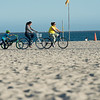 Beach bike path