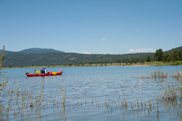 Lake Davis - Bike and kayak